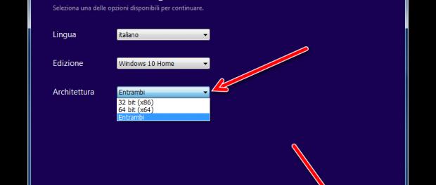 Fatti il DVD o la chiavetta USB di Windows 10
