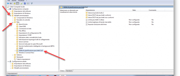 Come aumentare la banda internet su Windows 7
