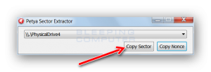rimuovere Petya e recuperare i file criptati