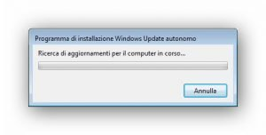 Programma di installazione Windows Update autonomo 1