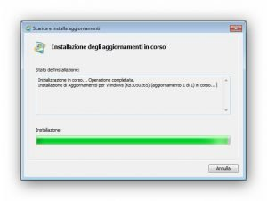 Programma di installazione Windows Update autonomo 4