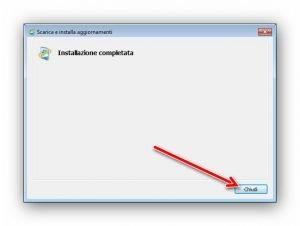 Programma di installazione Windows Update autonomo 5