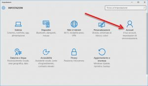 Password grafica windows 10