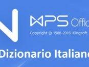 WPS Office 2016: come installare il dizionario italiano
