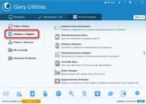 Glary Utilities 5 Ottimizza e Migliora