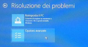 Ripristino Windows 10