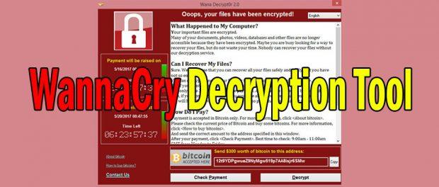 recuperare file criptati wannacry