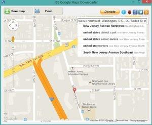 FSS Google Maps Downloader