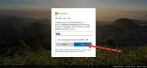 Creare un account Microsoft