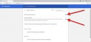 Disattivare il completamento automatico di Chrome