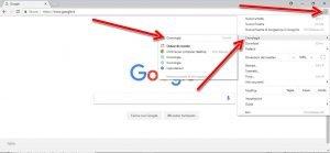 eliminare la cronologia di navigazione di Chrome