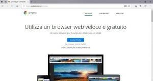 installare Google Chrome