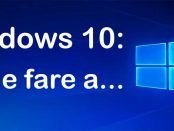windows 10 come fare a