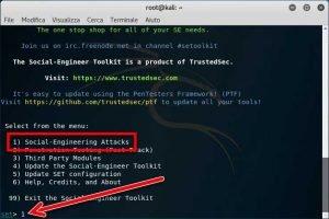 Clonare siti Web e rubare le password