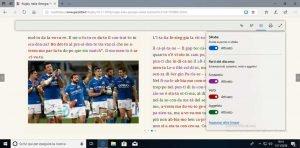 Studiare la grammatica delle lingue con Microsoft Edge