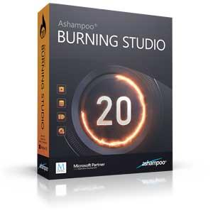 software di masterizzazione Ashampoo burning studio 20