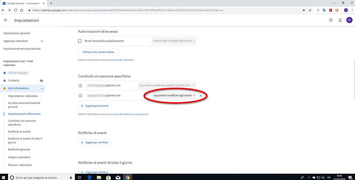 Calendario Condiviso Gmail.Creare Un Calendario Condiviso Con Google Calendar Dott