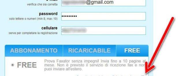 Attivazione-account-faxator-free