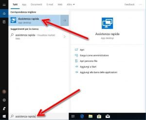 Avviare-assistenza-rapida-windows-10