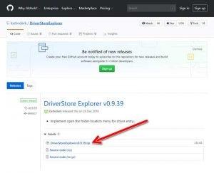 Download-DriverStore-Explorer