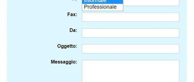 Inviare fax online