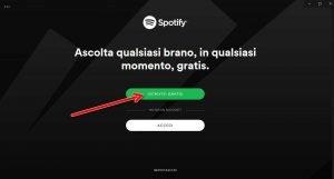 installare e usare Spotify su PC