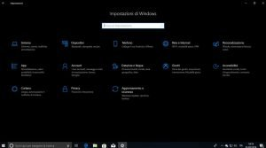modalità scura windows 10